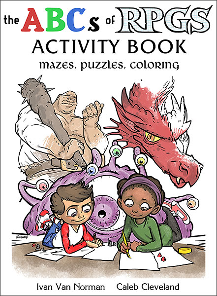 The ABCs of RPGs Coloring and Activity Book