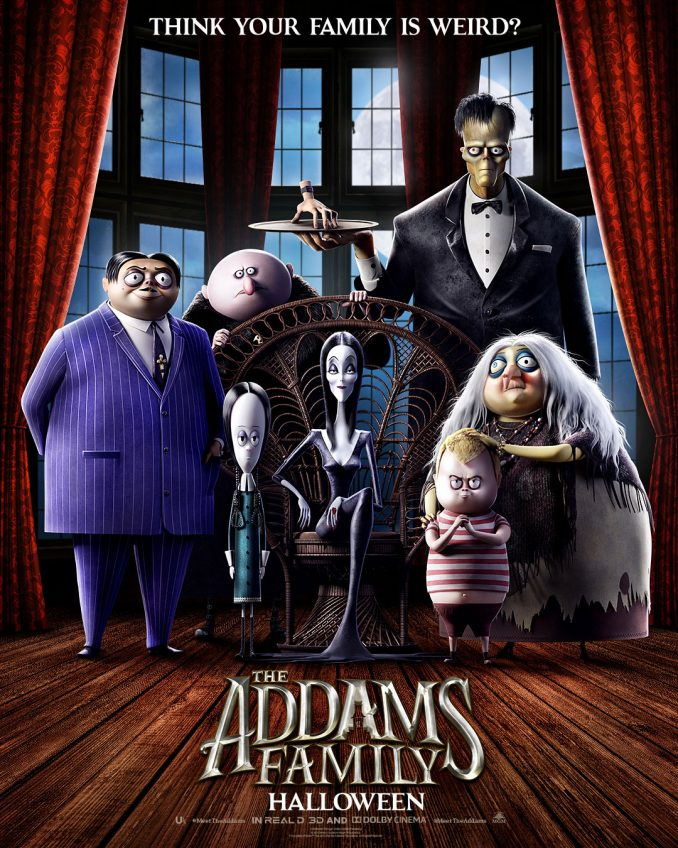 The Addams Family 2019 Poster
