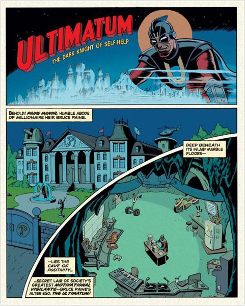 The Adventures of Unemployed Man graphic novel