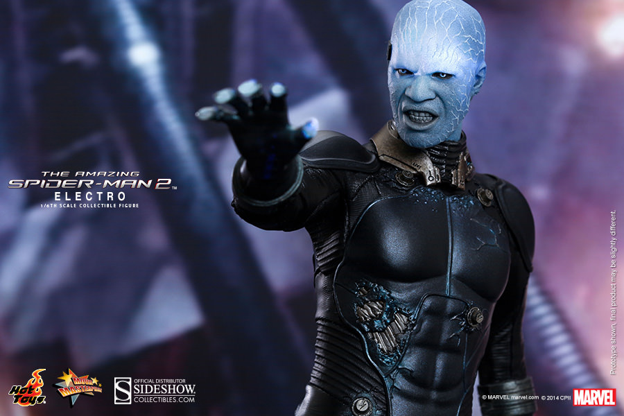 The Amazing Spider Man 2 Electro Sixth Scale Figure