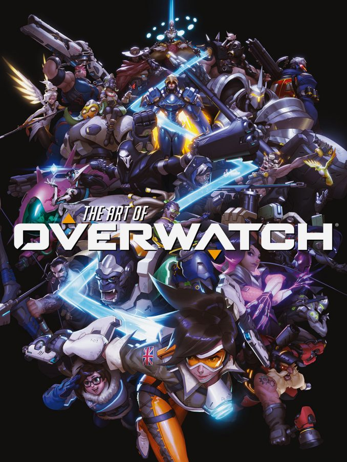 The Art of Overwatch Hardcover Book