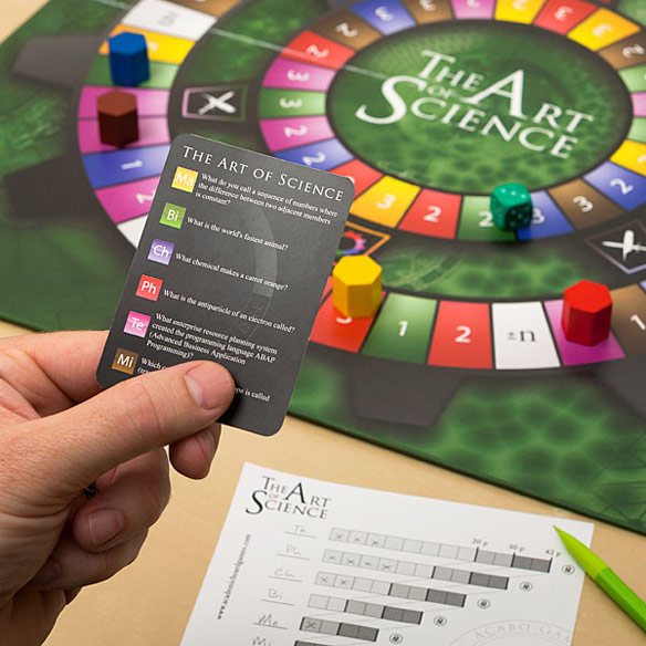The Art of Science Advanced Trivia