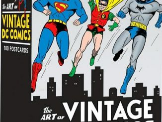 The Art of Vintage DC Comics Postcards
