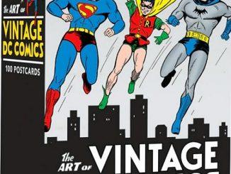 The Art of Vintage DC Comics Postcards