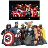 The Avengers - Assemble by Alex Ross Fine Art Sculpture