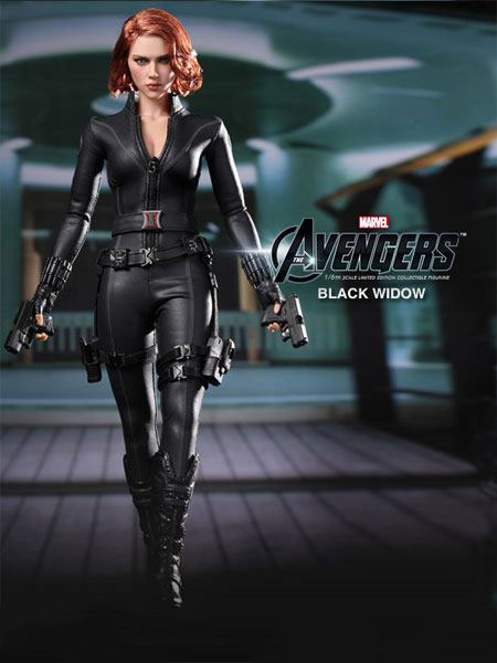 The Avengers Black Widow Sixth Scale Limited Edition Collectible Figure