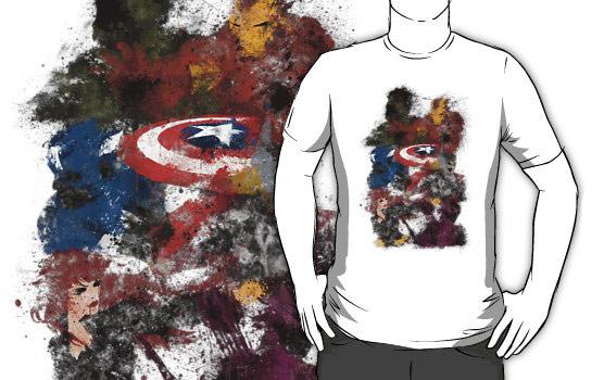 The Avengers Splatter Shirt