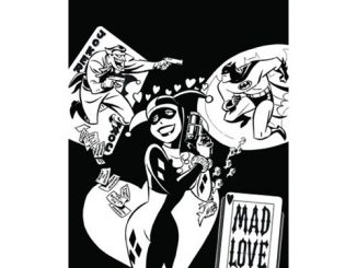 The Batman Adventures Mad Love Coloring Book