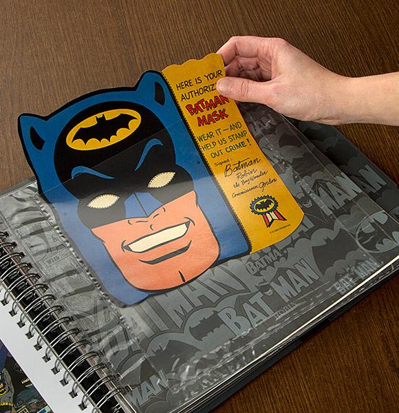 The Batman Vault Museum in a Book