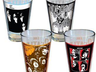 The Beatles Album Cover Pint Glasses