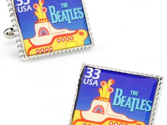 The Beatles Yellow Submarine Stamp Cufflinks