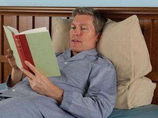 The Bedtime Reader's Configurable Pillow