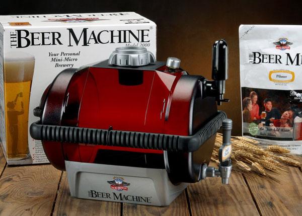 The Beer Making Machine