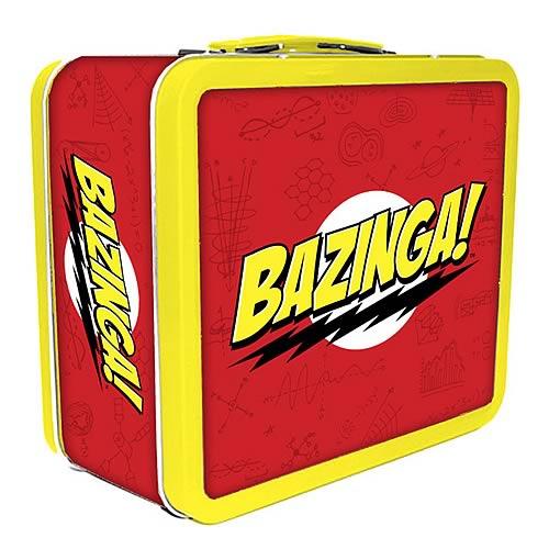 The Big Bang Theory Bazinga! Lunch Box