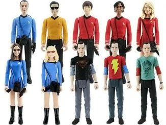 The Big Bang Theory Star Trek Original Series Action Figures