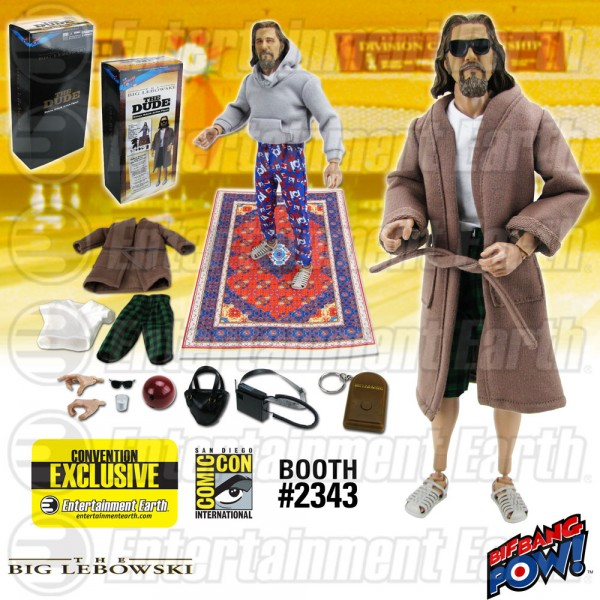 The Big Lebowski The Dude Deluxe 12-Inch Action Figure