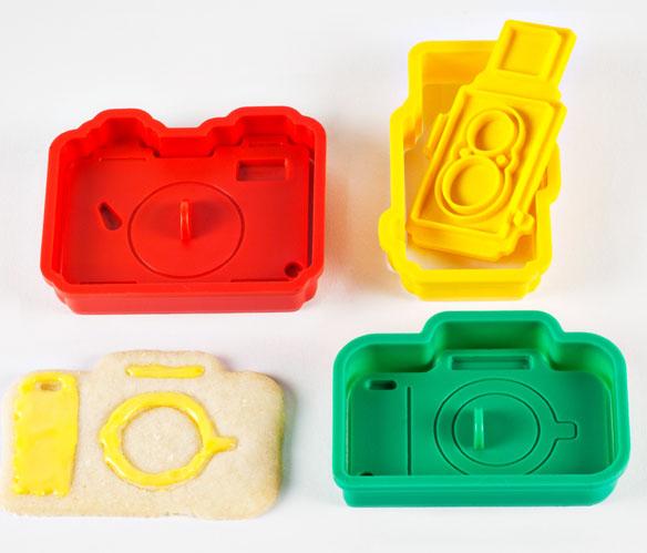 The Camera Cookie Cutter Set