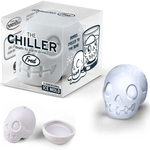 The Chiller 3D Skull Ice Mold
