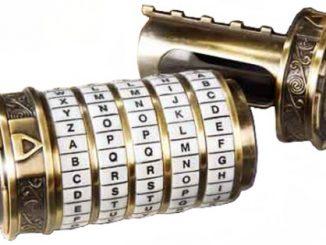 The DaVinci Code Mini Cryptex