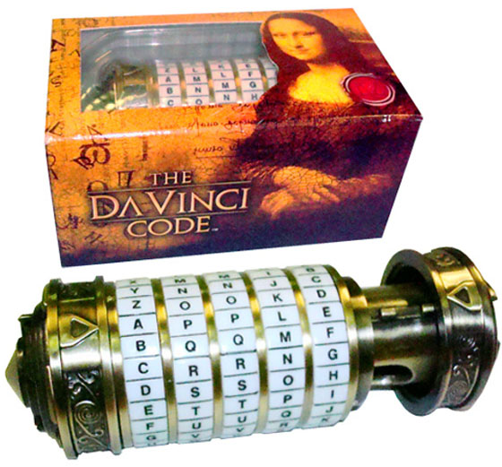 The DaVinci Code Mini Cryptex