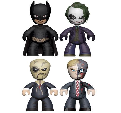 The Dark Knight 2in Mini Mez-itz Figure Box Set