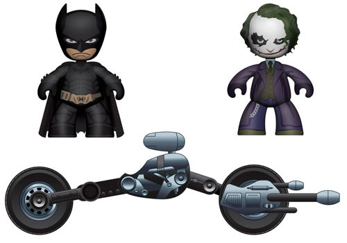 The Dark Knight 2in Mini Mez-itz Vehicle Box Set
