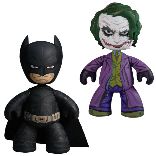 The Dark Knight 6in Mezitz Series 1 Batman & The Joker