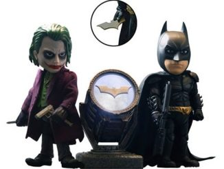 The Dark Knight Gotham City Hybrid Metal Figuration-045 Batman and Joker Action Figure Box Set