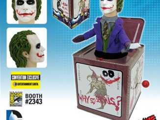 The Dark Knight Joker Jack in the Box