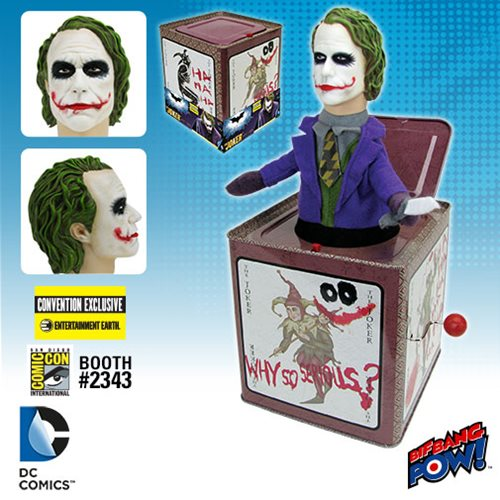 The Dark Knight Joker Jack in the Box