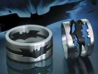 The Dark Knight Puzzle Ring