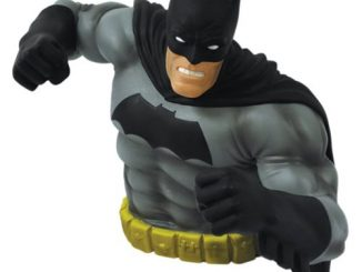 The Dark Knight Returns Batman Black Version Bust Bank