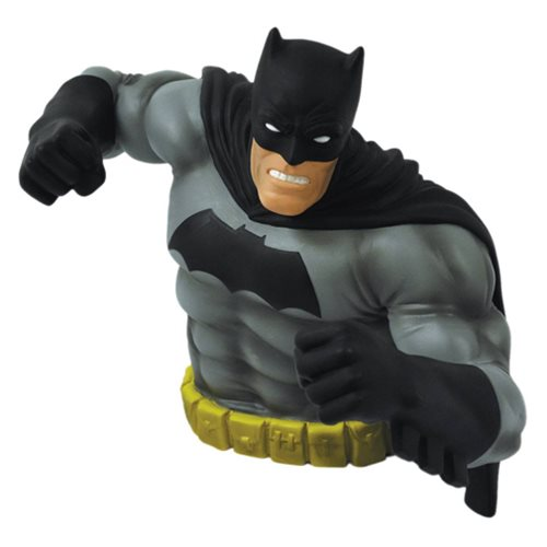 The Dark Knight Returns Batman Black Version Bust Bank