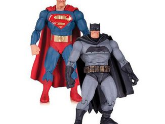 The Dark Knight Returns Superman and Batman 30th Anniversary Action Figure 2-Pack