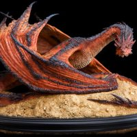 The Desolation of Smaug Statue