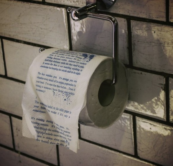 The Drop Horror Novel Toilet Paper