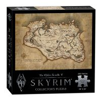 The Elder Scrolls V Skyrim Map 550pc Puzzle