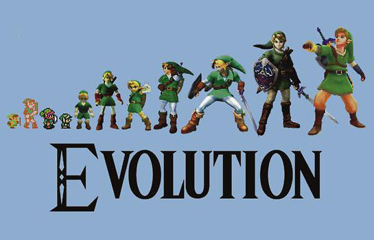 The Evolution of Zelda T-Shirt