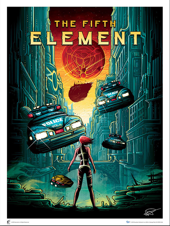 The Fifth Element Art Print