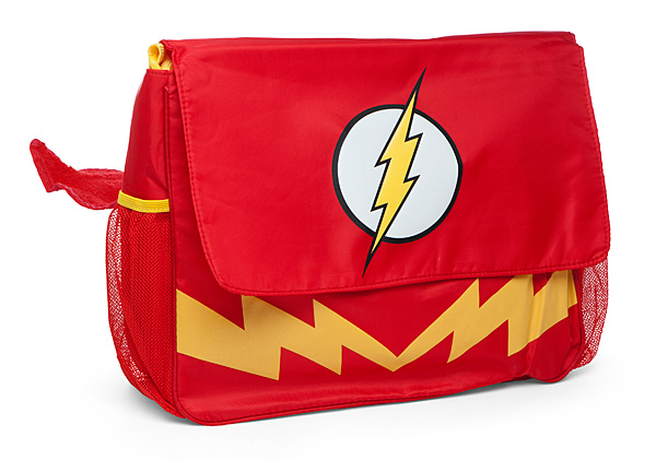 The Flash Diaper Messenger Bag