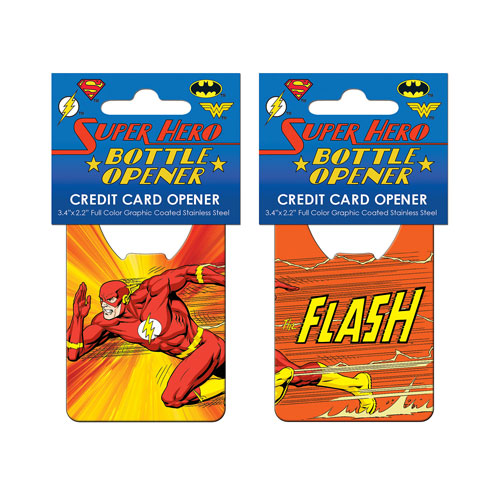 The Flash Super Speed Credit Card Bottle Opener