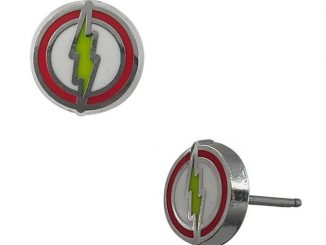 The Flash Symbol Stud Earrings
