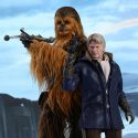 The Force Awakens Han Solo and Chewbacca Sixth-Scale Figure Set