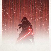 The Force Awakens Kylo Ren Exclusive Poster