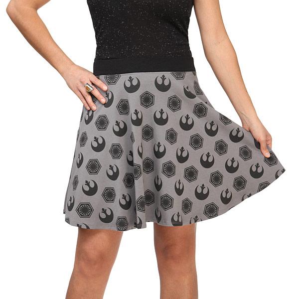 The Force Awakens Logo Skirt