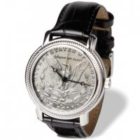 The Genuine Morgan Silver Dollar Watch