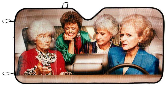 The Golden Girls Car Sunshade