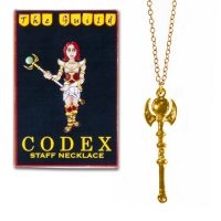 The Guild Codex Staff Necklace