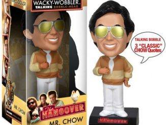 The Hangover Mr. Chow Talking Bobble Head
