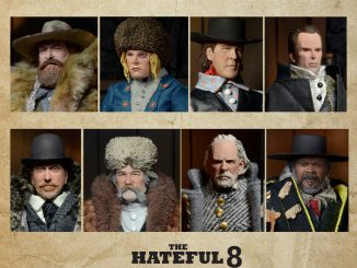 The Hateful Eight Movie Action Figure Set